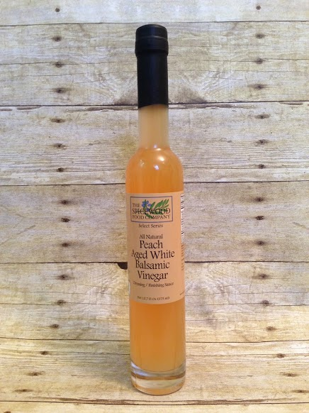 All Natural Peach White Balsamic Vinegar