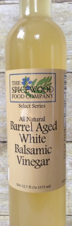 WHITE / Barrel Aged White Balsamic Vinegar 12.7 oz.