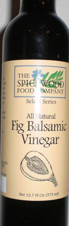 All Natural Fig Balsamic 12.7 ounce
